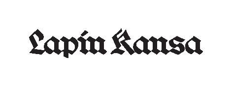 Lapin kansa -lehden logo. Logossa lukee Lapin kansa.